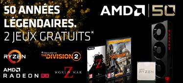 2 jeux offerts avec AMD