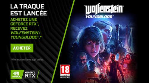 Wolfenstein Youngblood offert jusqu'au 06/08/2019