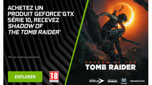 Shadow of the Tomb Raider offert jusqu'au 3/09/2019