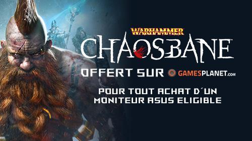 Warhammer Chaosbane offert jusqu'au 27/06/2019