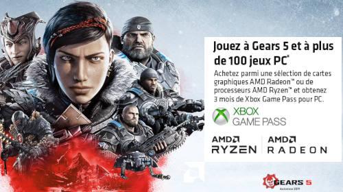3 mois de Xbox Game Pass pour PC offerts jusqu'au 10/03/2020