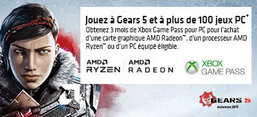 3 mois de Xbox Game Pass offerts avec AMD