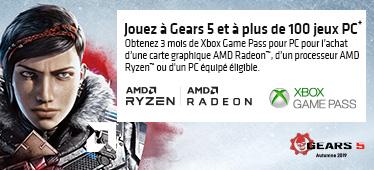 3 mois de Xbox Game Pass offerts avec AMD