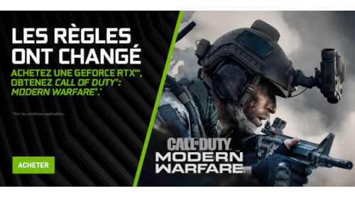 Call of Duty: Modern Warfare offert jusqu'au 18/11/2019