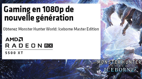 Monster Hunter World : Iceborne offert par AMD jusqu'au 27/01/2020
