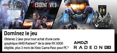 2 jeux offerts avec AMD