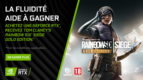 Rainbow Six Siege Gold Edition offert jusqu'au 30/09/2020