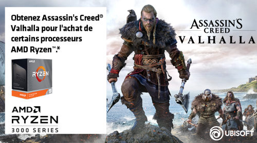 Assassin's Creed Valhalla offert jusqu'au 3/10/2020
