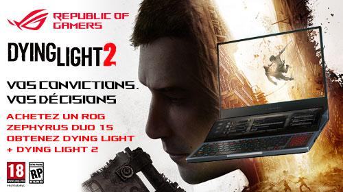 Dying Light 2 offert avec Asus jusqu'au 28/02/2021