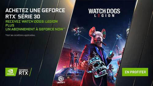1 an d'abonnement GeForce NOW offert jusqu'au 29/10/2020