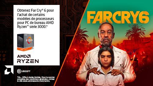Far Cry 6 offert jusqu'au 31/12/2020
