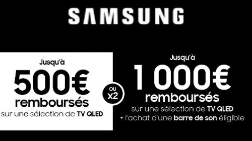 Jusqu'à 1000 € remboursés jusqu'au 16/02/2021