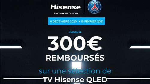 Jusqu'à 300 € remboursés jusqu'au 16/02/2021