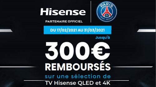 Jusqu'à 300 € remboursés jusqu'au 31/03/2021