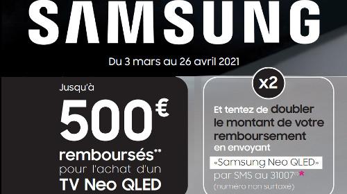Jusqu'à 500 € remboursés jusqu'au 26/04/2020
