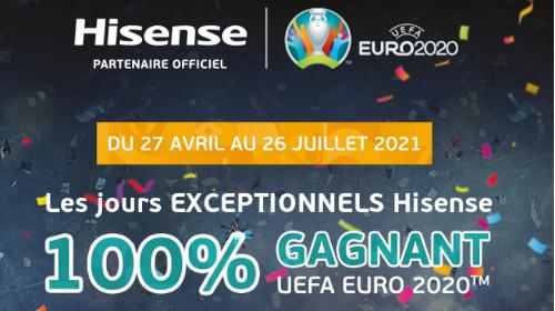 Gagnez des cadeaux UEFA Euro 2020 jusqu'au 26/07/2021
