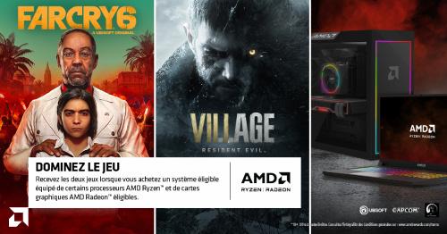 Far Cry 6 et Resident Evil Village offerts jusqu'au 31/12