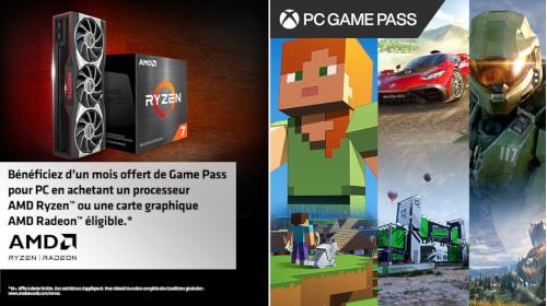 1 mois de Xbox Game Pass pour PC offert par AMD jusqu'au 30/06/2022