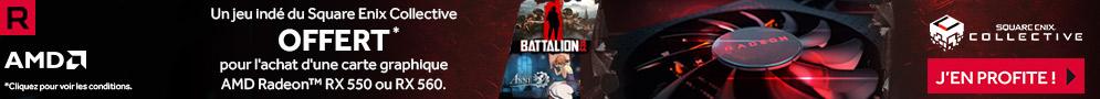 Jusqu'au 27 mai, un jeu indé du Square Enix Collective offert pour l'achat d'une carte graphique AMD Radeon RX 550 ou RX 560