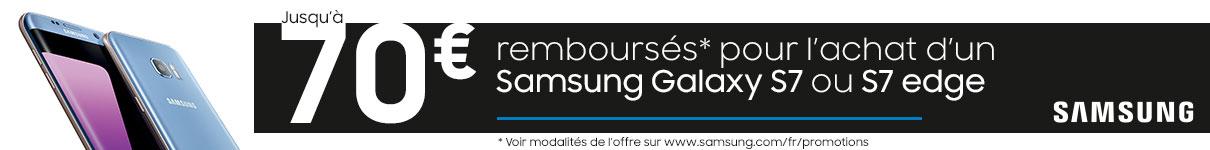 Jusqu'à 30€ remboursés sur les Galaxy J