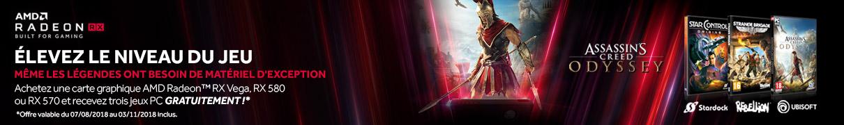 Code Pack 3 jeux offert avec AMD !