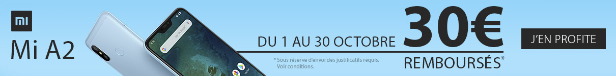 30€ remboursés par Xiaomi