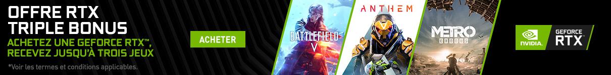 Metro Exodus, Battlefield V et Anthem offerts jusqu'au 4 avril 2019