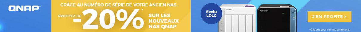 Offre de renouvellement QNAP : 20% de réduction