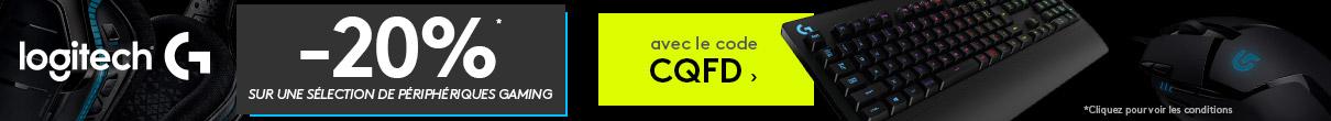 -20% avec le code CQFD