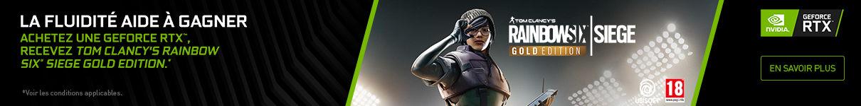 Rainbow Six Siege Gold Edition offert jusqu'au 27/08/2020