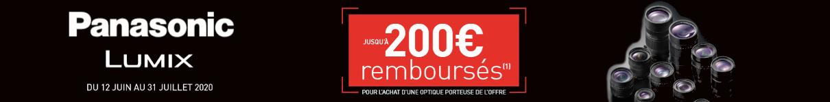 Jusqu'à 200€ remboursés jusqu'au 31/07/2020