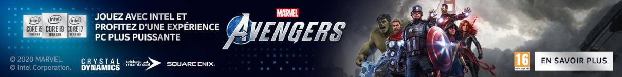 Marvel's Avengers offert dans la limite de 1000 pièces