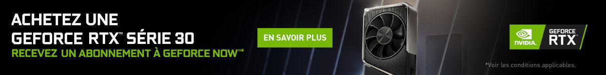 1 an d'abonnement GeForce NOW offert jusqu'au 31/12/2020