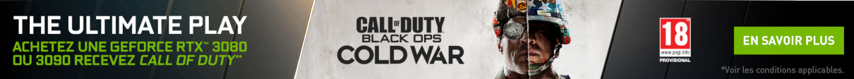 Call of Duty : Black Ops Cold War offert jusqu'au 10/12/2020