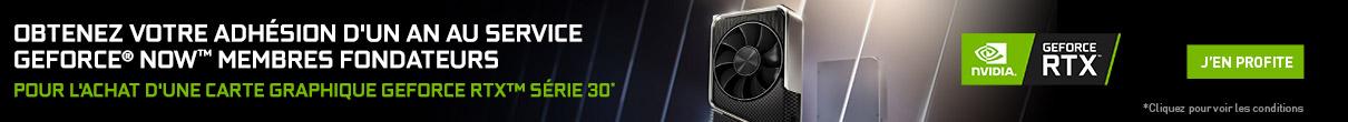Un an au GeForce Now Membre Fondateur offert avec NVIDIA