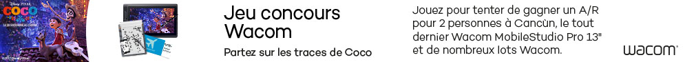 """Jusqu'au 31 janvier, participez au jeu concours Wacom """"Sur les traces de Coco"""" et tentez de gagner un voyage à Cancun"""