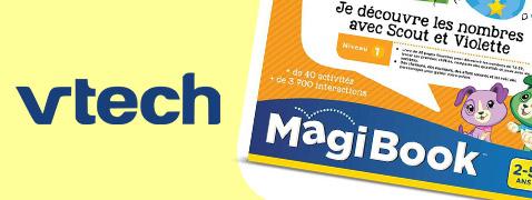 1 livre MagiBook offert pour l'achat de 2 MagiBook