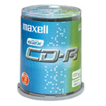 Achat CD Maxell CD-R 700 Mo Certifié 52x (pack de 50, spindle)