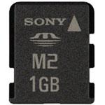 Voir la fiche produit Sony Memory Stick Micro 1 Go (sans adaptateur)