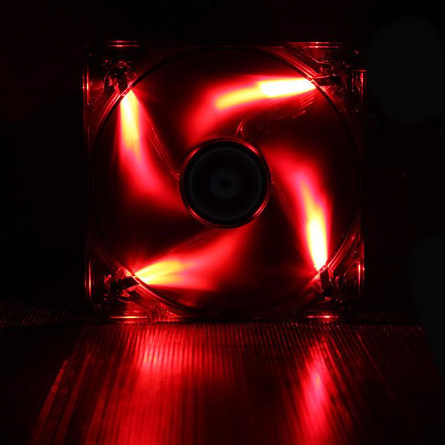 Ventilateur boîtier BitFenix Spectre LED Rouge 140 mm BitFenix Spectre LED 140 mm Rouge - Ventilateur LED 140 mm