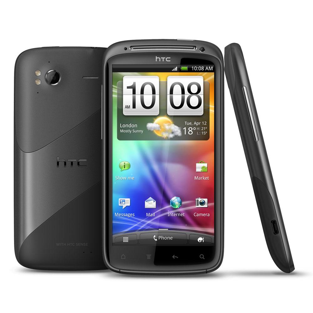 """Mobile & smartphone HTC Sensation Smartphone 3G+ avec écran tactile 4.3"""" sous Android 2.3"""