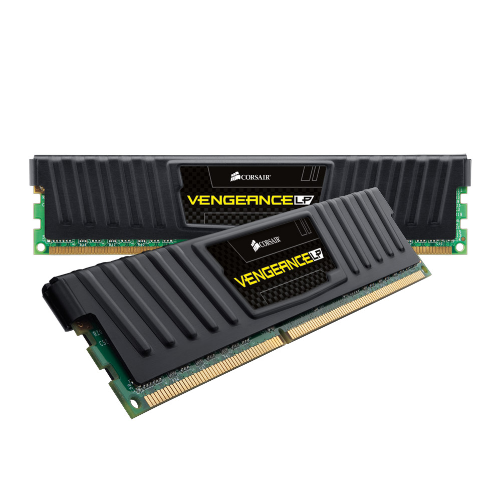 Mémoire PC Corsair Vengeance Low Profile 8 Go (2x 4 Go) DDR3 1600 MHz CL9 Kit Dual Channel RAM DDR3 PC12800 - CML8GX3M2A1600C9 (garantie 10 ans par Corsair)