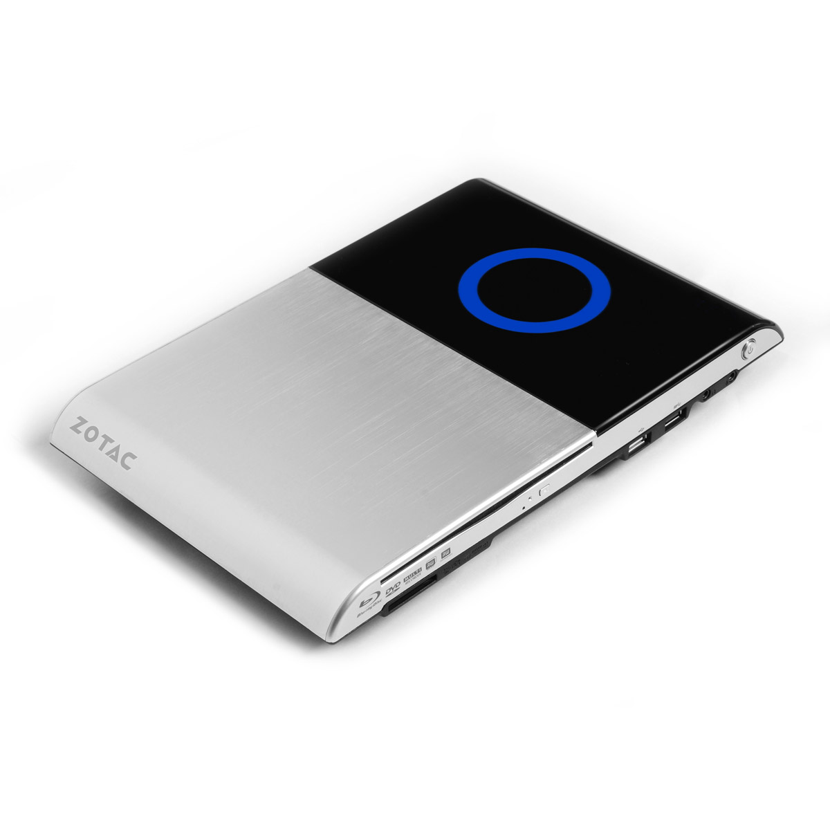 Barebone PC ZOTAC ZBOX AD03BR AMD E350 AMD Radeon HD 6310 Lecteur Blu-ray Wi-Fi N (sans écran/mémoire/disque dur)