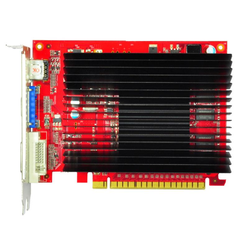 Carte graphique Gainward GT220 SilentFX 1 Go DVI/HDMI - PCI Express (NVIDIA GeForce avec CUDA GT 220)