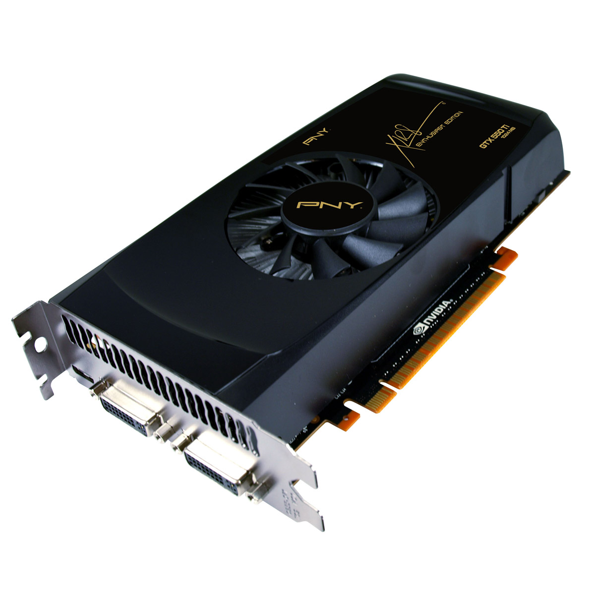 Carte graphique PNY GeForce GTX 550 Ti 1 GB 1024 Mo Dual DVI/Mini HDMI - PCI Express (NVIDIA GeForce avec CUDA GTX 550 Ti)