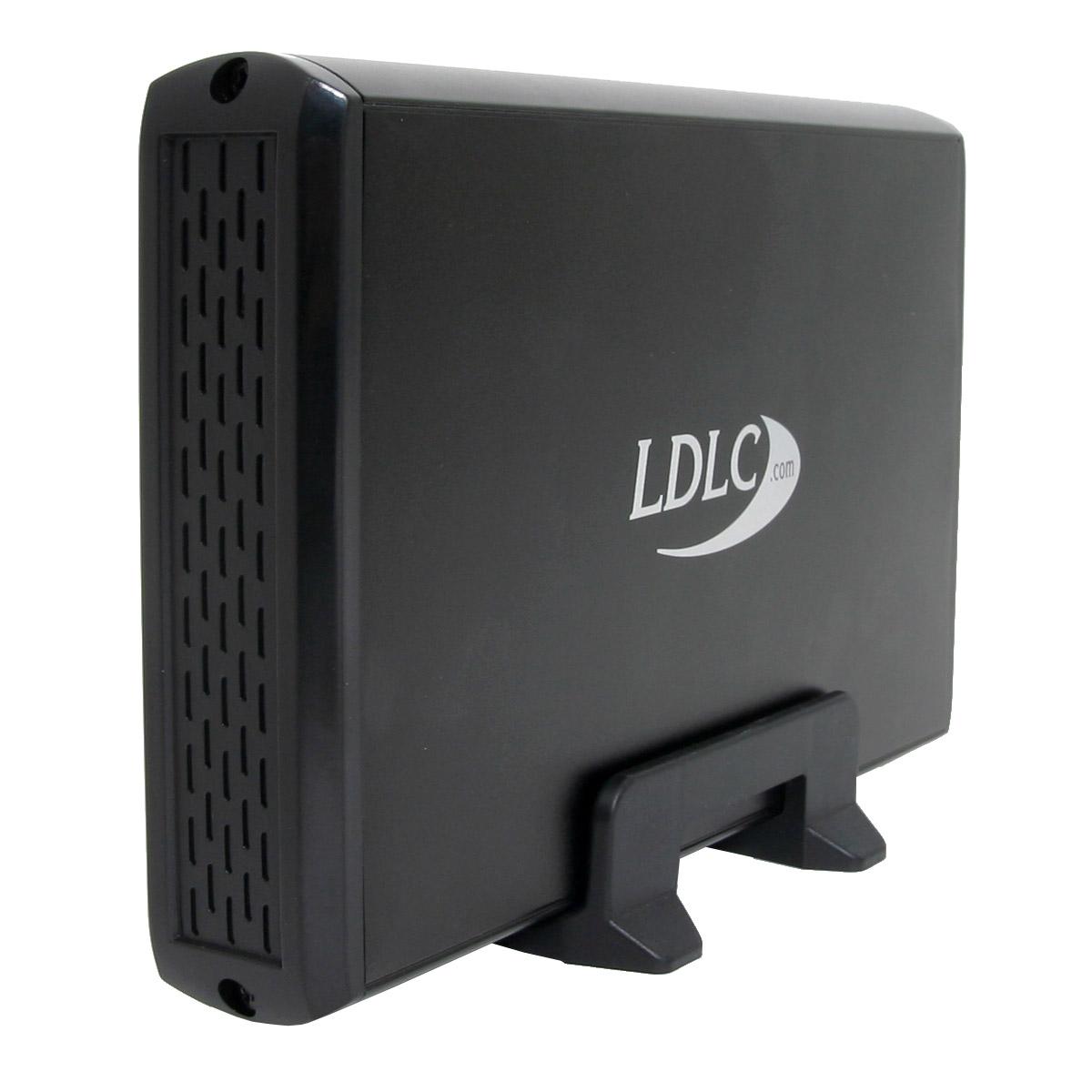 """Disque dur externe LDLC Disque dur externe 500 Go 3.5"""" (USB 3.0) (délai supplémentaire 1-3j pour montage)"""