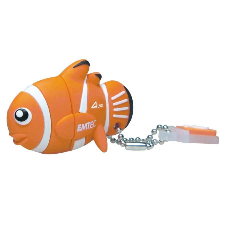 Emtec m317 poisson clown cl usb emtec sur for Poisson clown prix