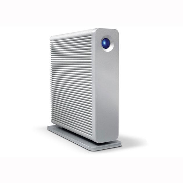 Disque dur externe LaCie d2 Quadra v3 4 To (USB 3.0, 2x FireWire 800 et eSATA) Système de stockage sur ports USB 3.0 / FireWire 800 / eSATA (garantie LaCie 3 ans)