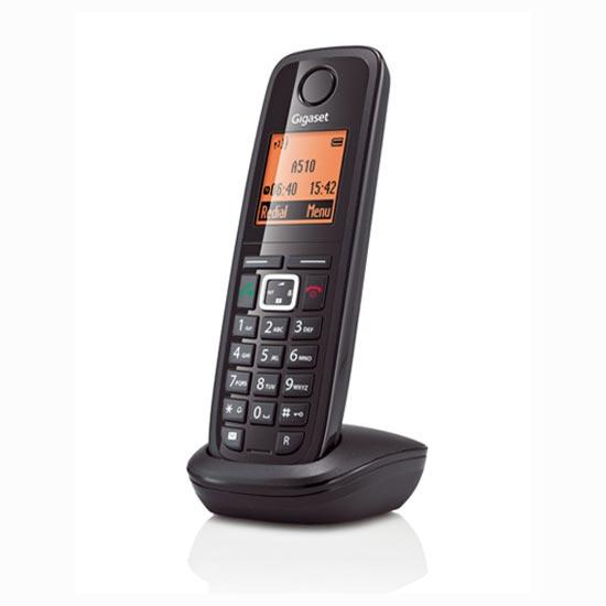 Téléphone sans fil Gigaset A510H Noir Gigaset A510H Noir - Combiné supplémentaire pour Gigaset A510 (version française)