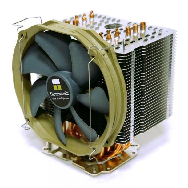 Ventilateur processeur Thermalright HR-02 Macho Ventilateur processeur (pour socket Intel 775/1155/1156/1366 et AMD AM2/AM3)